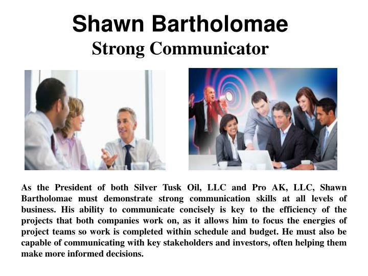Shawn Bartholomae