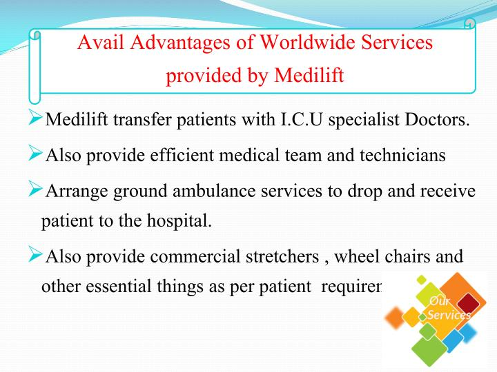 Avail Advantages of Worldwide Services provided by