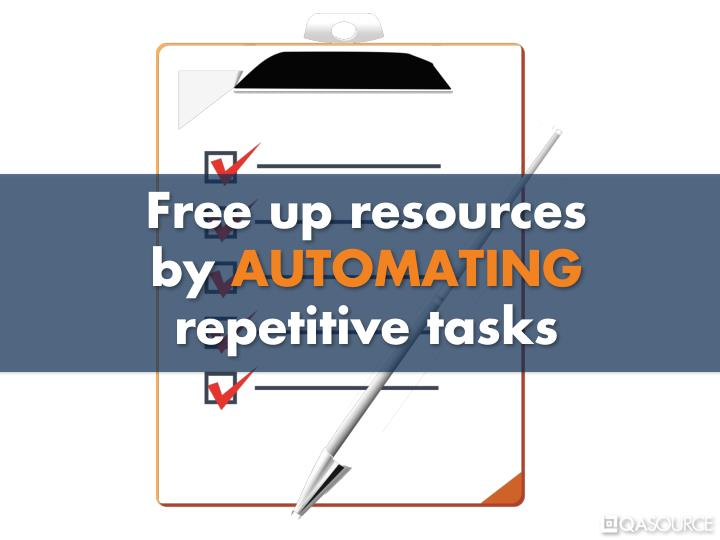 Free up resources