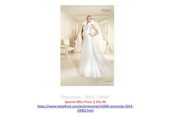 Oronovias - 2014 - 14002