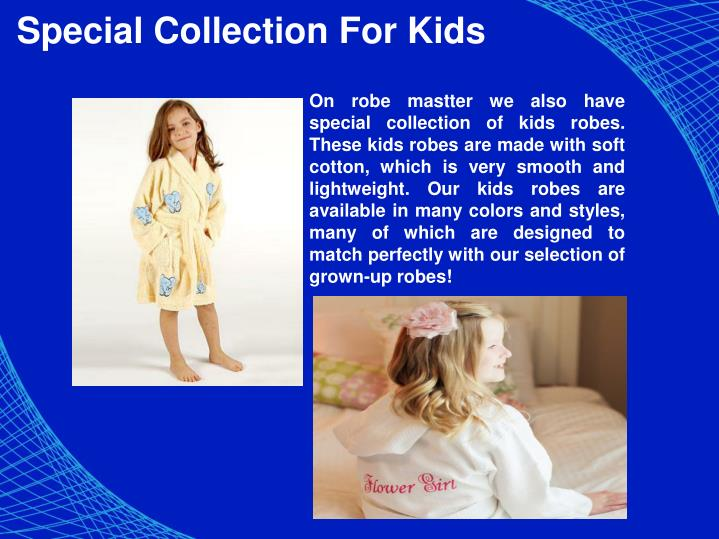 Special Collection For Kids