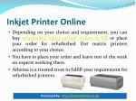 inkjet printer online