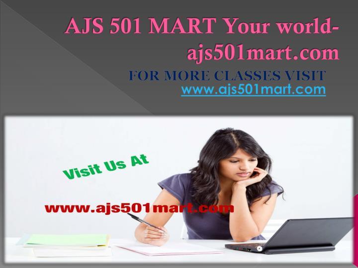 AJS 501 MART Your world-ajs501mart.com