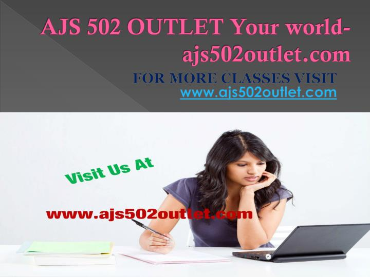 AJS 502 OUTLET Your world-ajs502outlet.com
