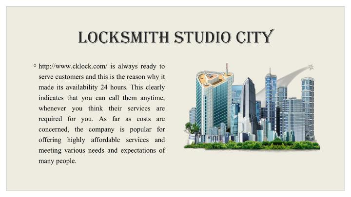 Locksmith Studio City