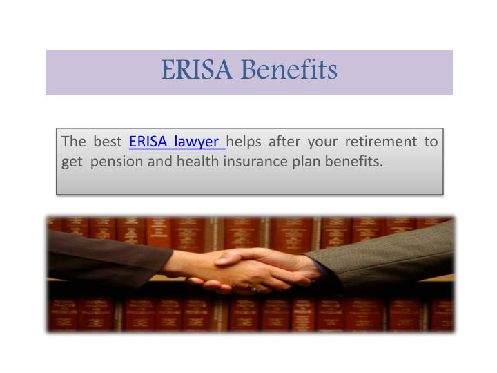 ERISA Benefits