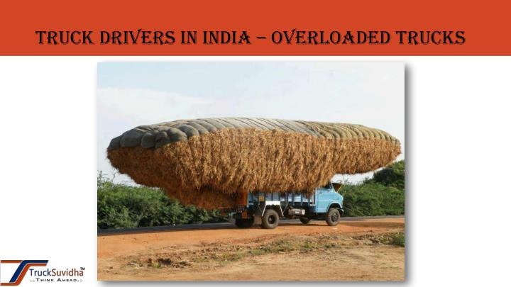 Truck drivers in India