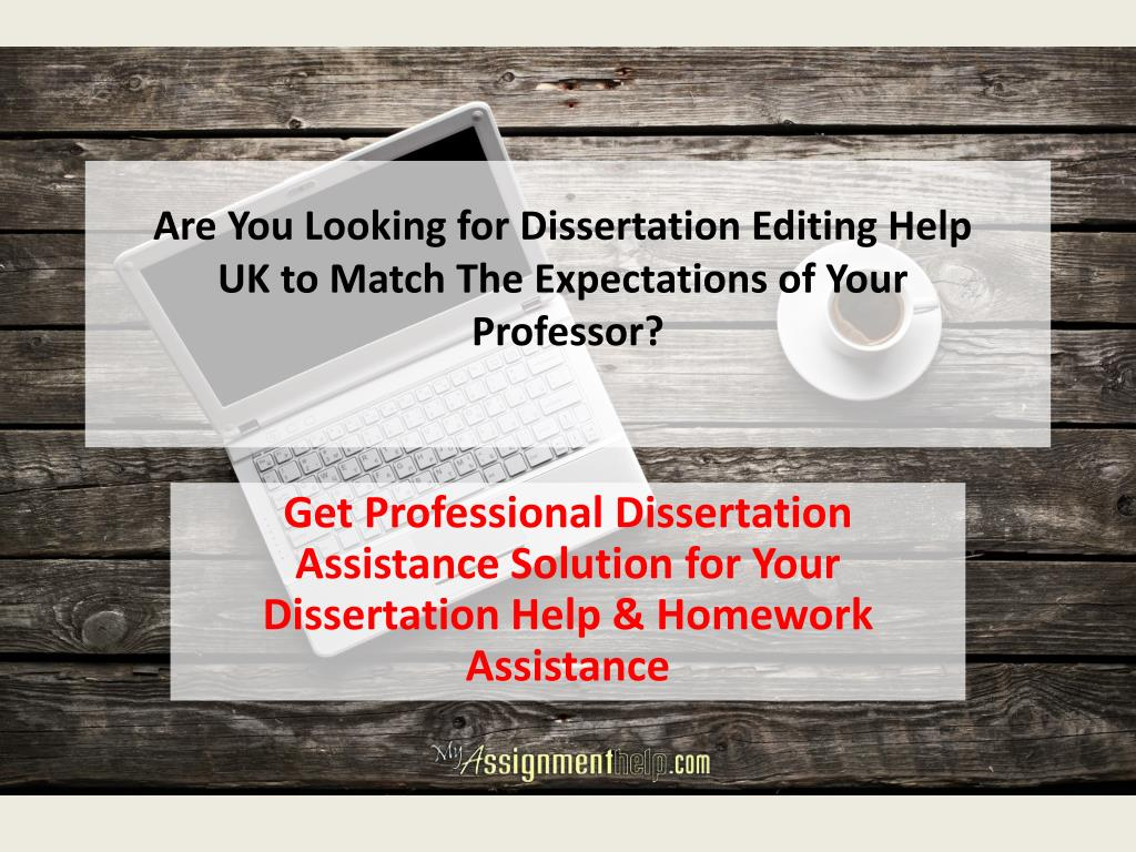 Dissertation Proofreading & Editing Services - UK Dissertation Editors
