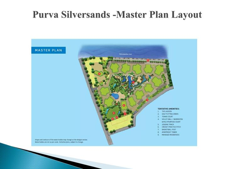 Purva Silversands -Master Plan Layout