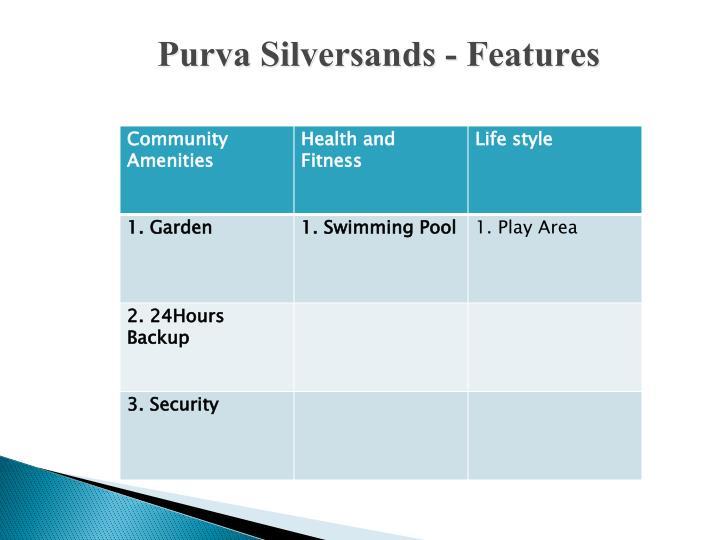 Purva Silversands -