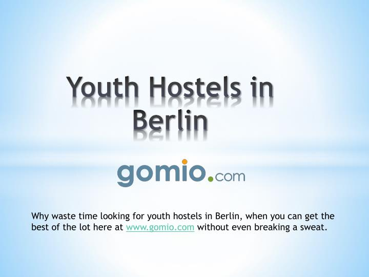 youth hostels in berlin