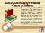 join a good staad pro training centre in kolkata