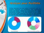 analyze your portfolio