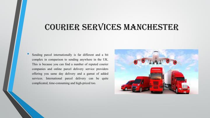 Courier services manchester