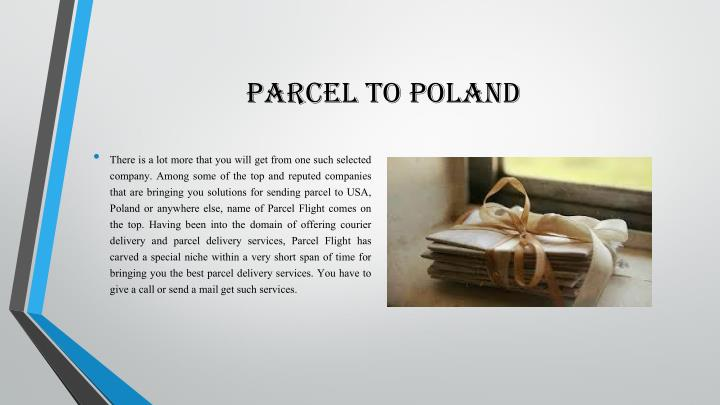parcel to poland