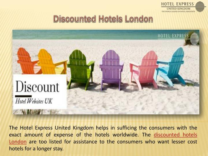 Discounted Hotels London
