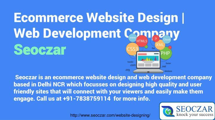 Ecommerce Website Design   Web Development Company