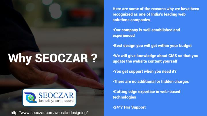 Here are some of the reasons why we have been recognized as one of India's leading web solutions companies.