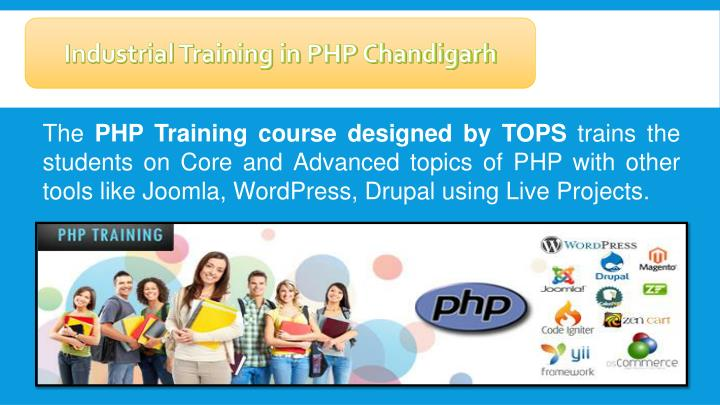 Industrial Training in PHP Chandigarh