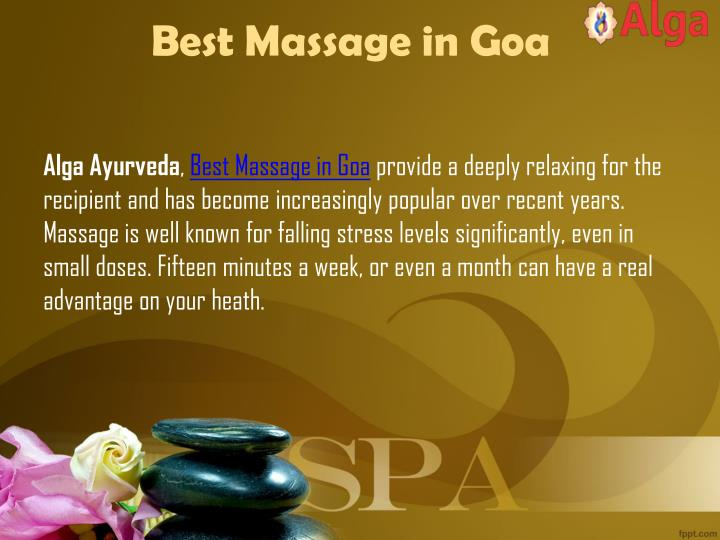 Best Massage in Goa