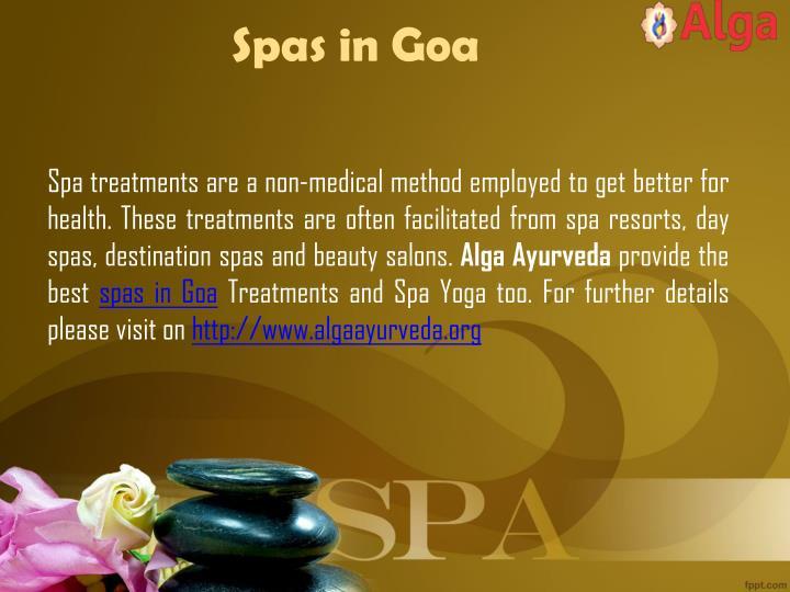 Spas in Goa