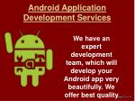 android application development services1