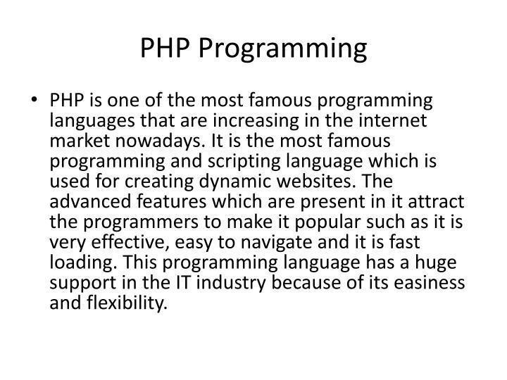 Php programming2