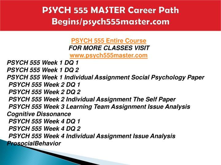 Psych 555 master career path begins psych555master com1