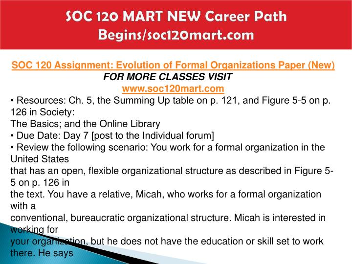 Soc 120 mart new career path begins soc120mart com1