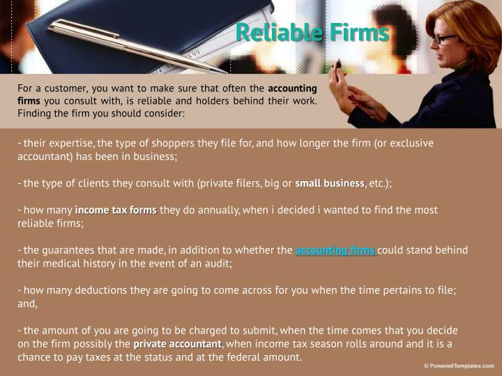 Reliable Firms