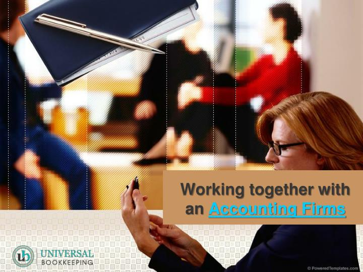 Working together with an accounting firms