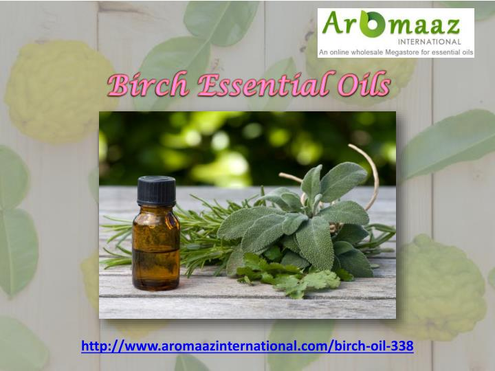 Birch Essential Oils