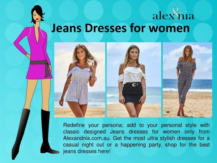 Jeans Dresses for women