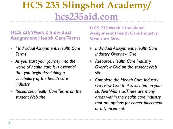 Hcs 235 slingshot academy hcs235aid com2