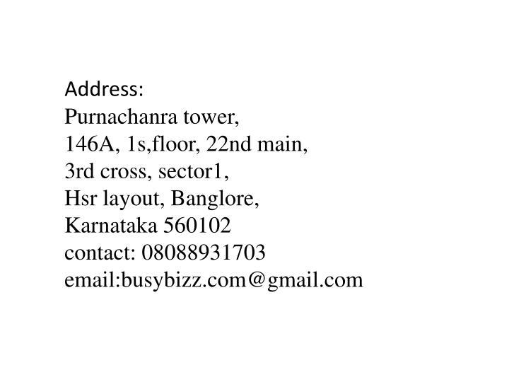 Address