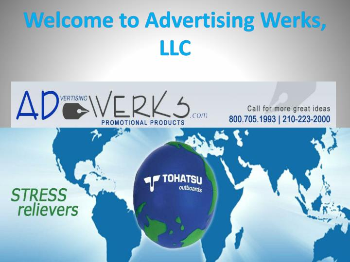 Welcome to advertising werks llc