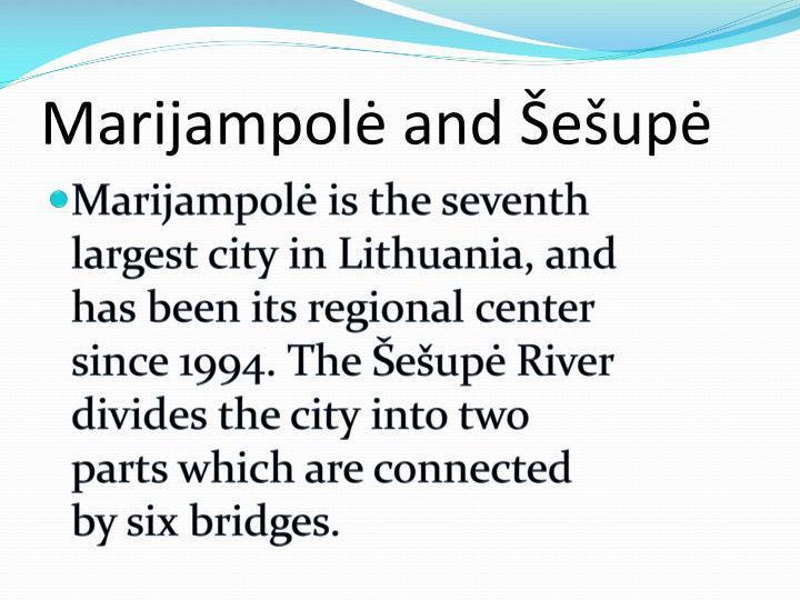 Marijampol and e up