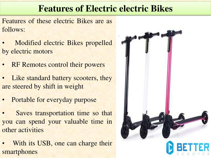 Features of Electric