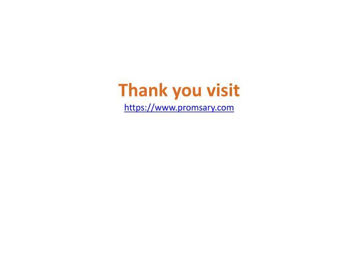 Thank you visit
