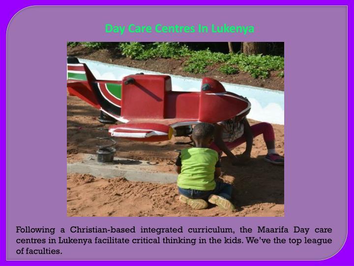 Day Care Centres In Lukenya
