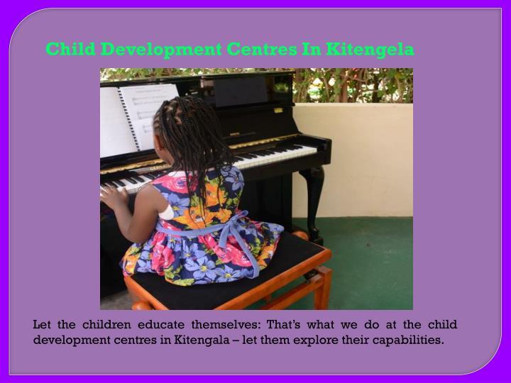 Child Development Centres In Kitengela
