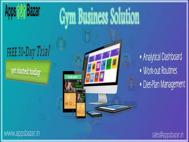 Benefits your business with gym application