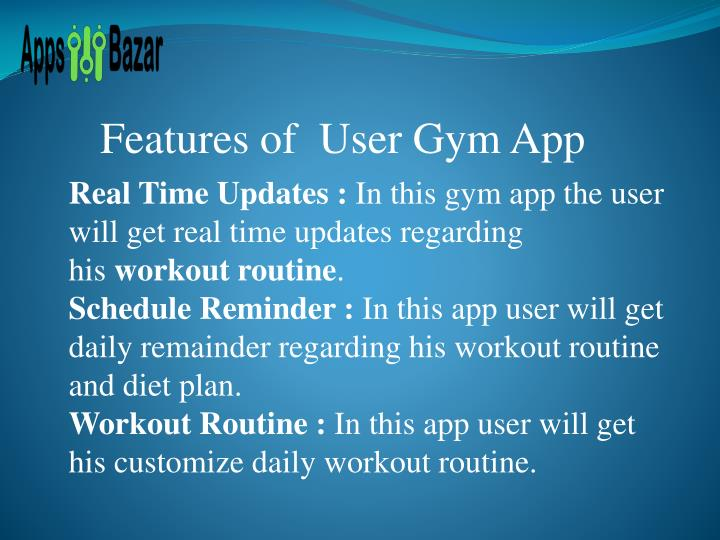 Features of