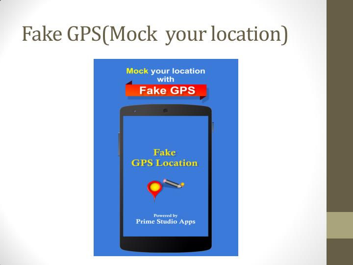 Fake GPS(Mock  your location)