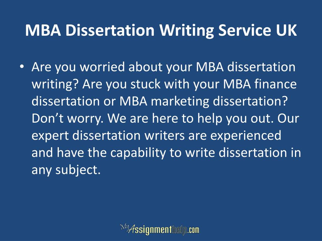 MBA Essay Services |