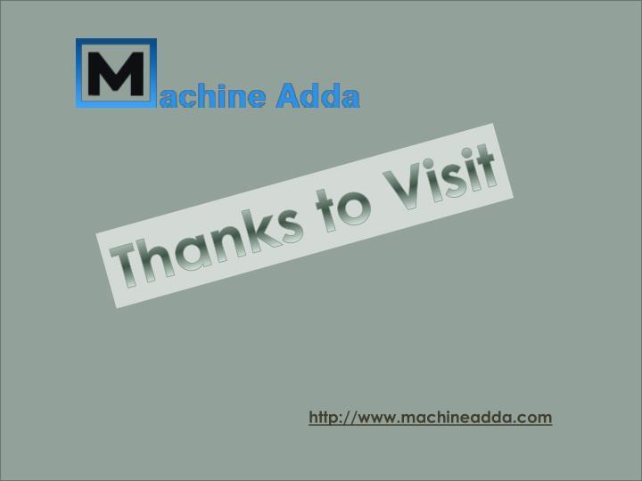 Thanks to Visit