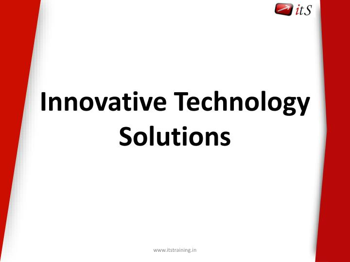 innovative technology solutions n.