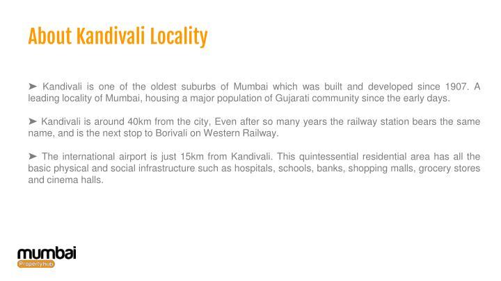 About Kandivali Locality