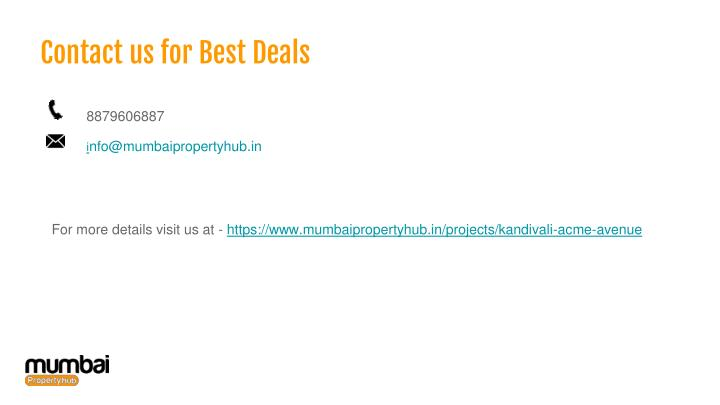 Contact us for Best Deals