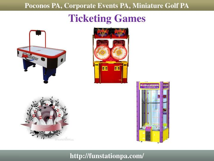 Poconos PA, Corporate Events PA, Miniature Golf PA
